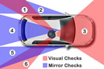 What is the 6 Point Check for Driving Explained with Diagram