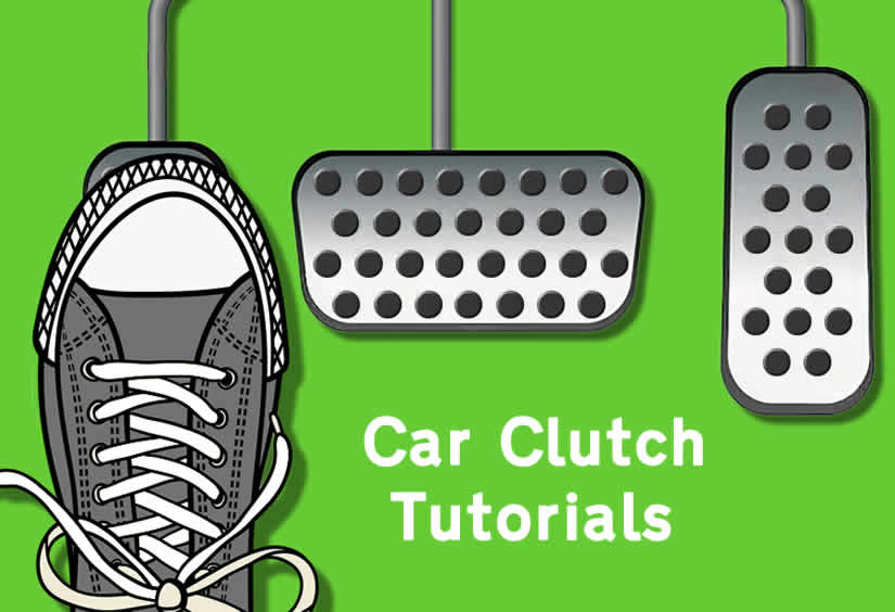 Learning how to use the car clutch tutorial