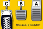 Which floor pedal is the clutch clutch explained